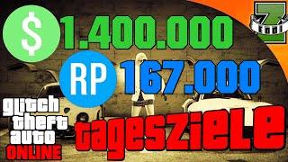GTA 5 LEGAL SCHNELL GELD MACHEN   Tipps und Tricks   1.400.000 GTA $ und 167.000 RP [Tagesziele]