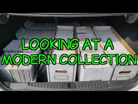 Looking At A Modern Comic Book Collection