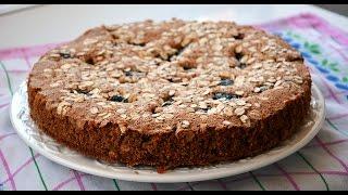 Receta Bizcocho de Zanahoria y Avena Delicioso y Fácil (Queque-Torta-Carrot cake)