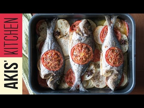 Baked Fish & Vegetables | Akis Petretzikis