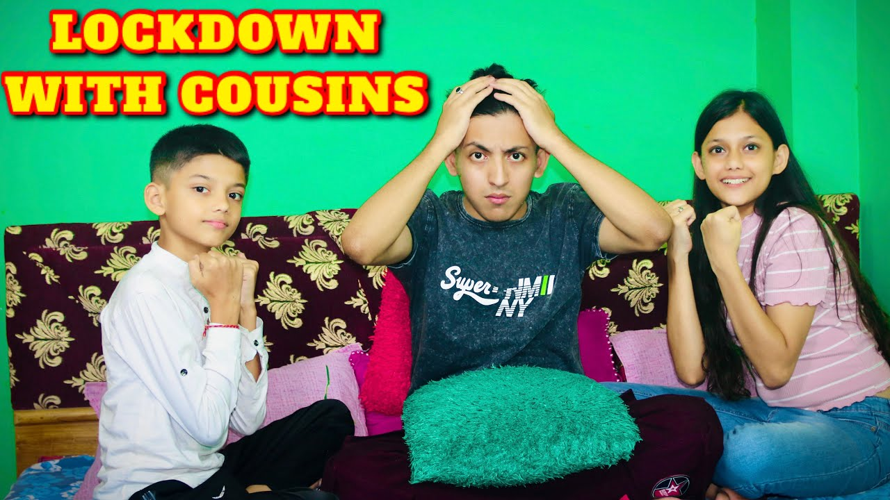 Lockdown With Cousins | Funny Video | Prashant Sharma Entertainment