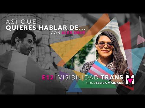 Así que quieres hablar de visibilidad trans con Jessica Marjane & Alex Orué. 📣