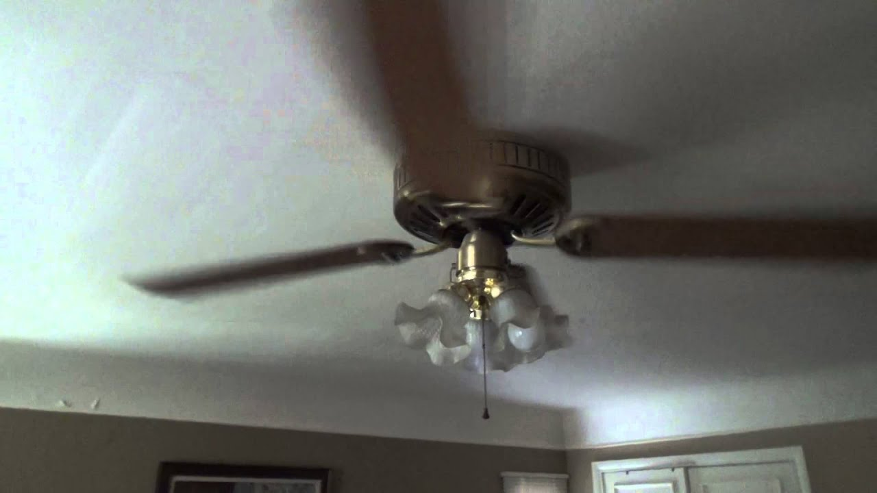 1993 52 inch. Hunter Low Profile ceiling fan