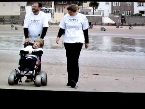 POPSY Charity Beach Wheelchairs Make a Splash !
