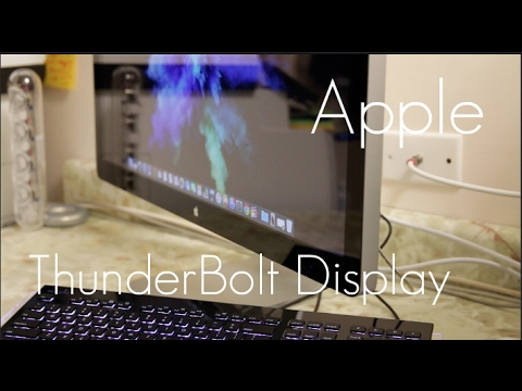 Apple Thunderbolt Display in 2017? - Quick unboxing and review!