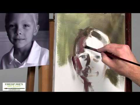 A Head Study (Pt3) with Professional Portrait Artist Brian Neher
