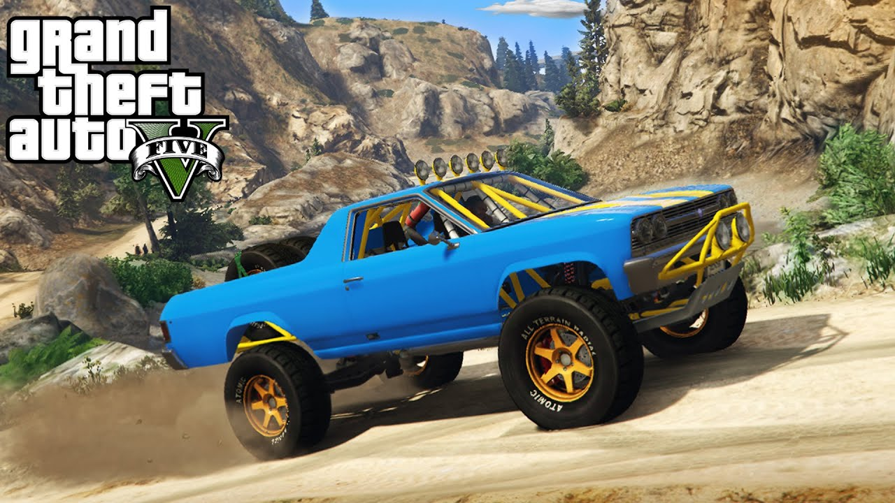 The best off road 4x4 truck in gta 5 insane hill climbing mudding gta v pc mods youtube