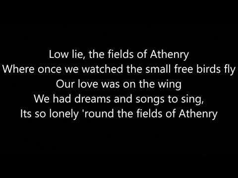 The Fields Of Athenry | Lyrics Video
