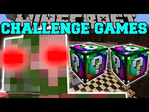 Minecraft: ZOMBIE PIGMAN TITAN CHALLENGE GAMES - Lucky Block Mod - Modded Mini-Game
