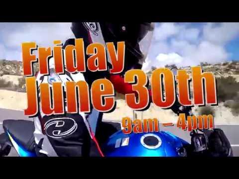 adventure, suzuki demo days, june 2017 - youtube