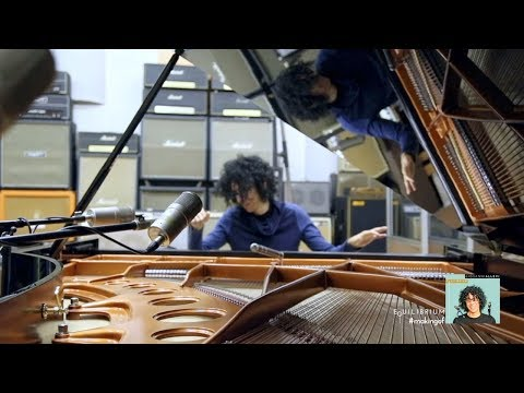 "Giovanni Allevi - ""Equilibrium"" - #makingof - Giovanni Allevi and his piano"