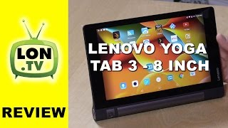 Lenovo Yoga Tab 3 - 8 Inch Review - Under $200 Android Tablet with IPS display