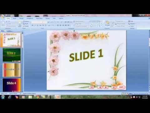 Hướng Dẫn chèn hình ảnh vào slide và tạo hiệu ứng chuyển tiếp slide PowerPoint 2007