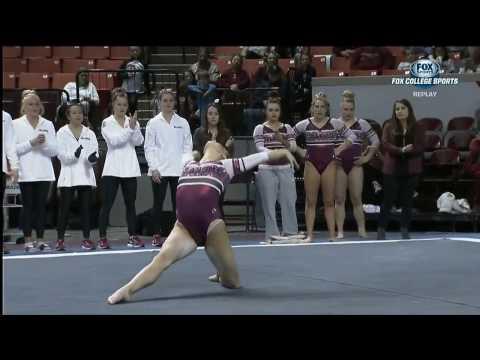 Natalie Brown Oklahoma 2017 Floor vs UCLA 9.85