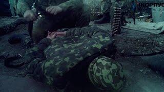 Допрос пленного майора разведки ВСУ под Дебальцево, допрашивает Чиc / icorpus.ru