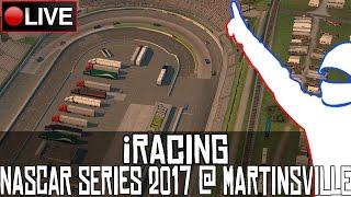 nascar iracing series 2017    martinsville    live
