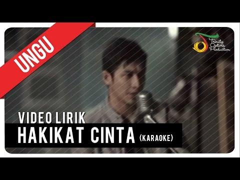 UNGU_Hakikat Cinta (Karaoke) | VC Trinity