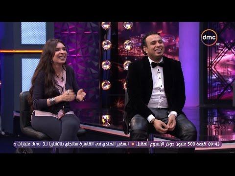 عيش الليلة - لعبة بدون كلام مع دينا والفنان محمود الليثي وأشرف عبد الباقي بحضور نجم 'مسرح مصر'