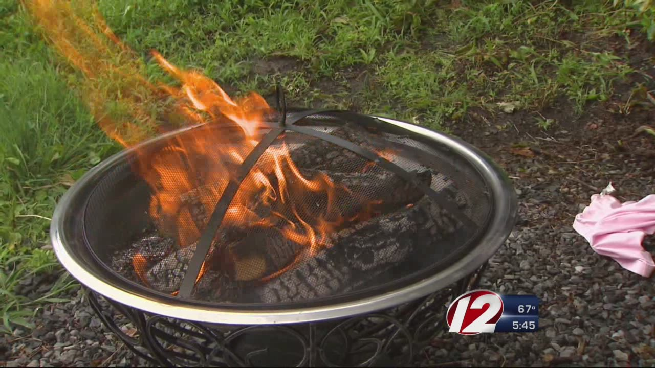 Fire Pit Safety Tips - YouTube