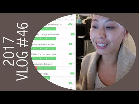 Vlog - How I Track My Habits and Goals