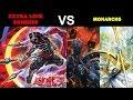 YuGiOh (Lost Duels) - Extra Link Zombies ft Shinobi Necro vs Monarchs