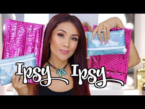 Ipsy VS Ipsy July 2018 : 2 Bags!!!