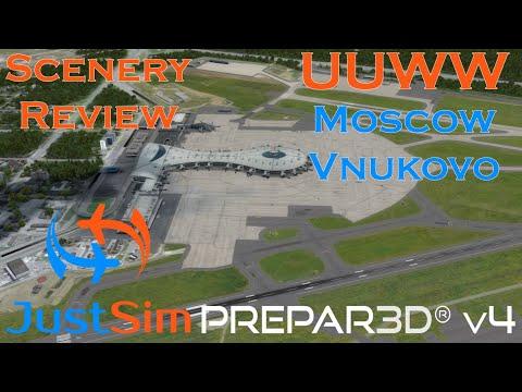 FREE Stay@home Promotion | JustSim - UUWW Moscow Vnukovo | Scenery Review | Prepar3Dv4 |SUPER SUNDAY