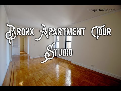 Bronx studio apartment tour:  Fordham Heights $1,550 U2apartment thumbnail