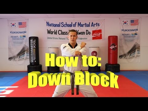 Hand Drills – National School of Martial Arts – Olympic Taekwondo