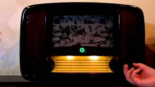 видео: Радиоприемник Балтика VEF.