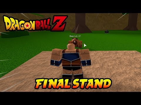 [DragonBallZFinalStand]-PLAYING FOR THE FIRST TIME!!!