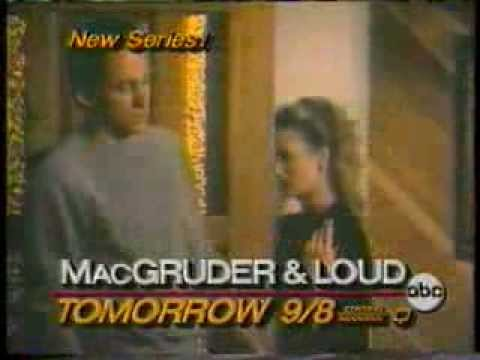 MacGruder & Loud & Surviving 1985 ABC Theater Promo