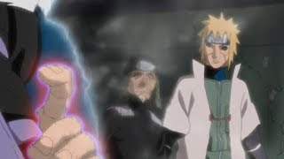 Tobirama Asusta A Sasuke Y Otros Con Un Solo Dedo   Orochima...