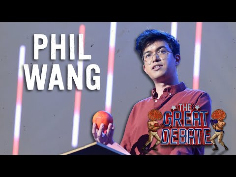 Phil Wang (Affirmative) 3rd Speaker - The 29th Annual Great Debate 2018