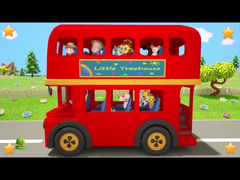 Kindergarten Nursery Rhymes for Toddlers   Cartoons for Children   Kids Songs by Little Treehouse