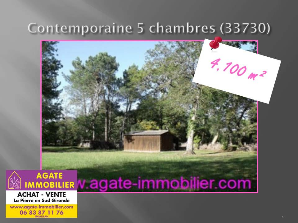 Vente Maison Contemporaine 120m 5 Chambres Sud Gironde Youtube