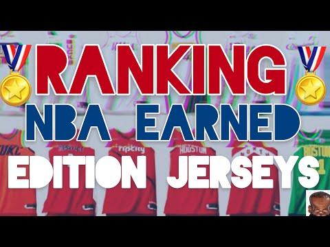 Ranking NBA Earned Edition Jerseys - YouTube 3a62a96fb