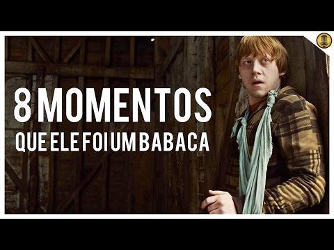 8 MOMENTOS que Rony Weasley foi um BABACA nos filmes de Harry Potter!