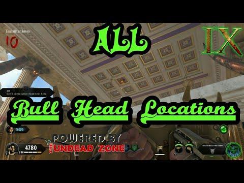 ALL Bull Head Locations