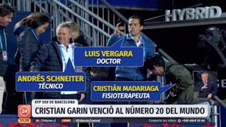 Noticiario Central 24 Horas - Christián Garín en ATP de Barcelona 2019