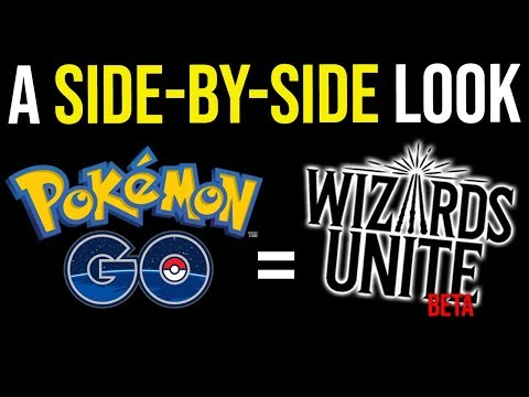 Wizards Unite Beta vs. Pokemon Go: A Side-by-Side Comparison