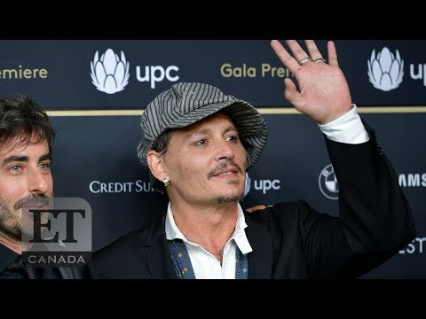 Johnny Depp Makes Rare Appearance At Zurich Film Festival