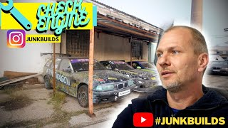 CHECKENGINE Exclusive - Hetyési Zsolt | JUNKBUILDS . BMW E36 1.8🐌
