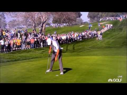 Tiger Woods shots 2015 Farmers Insurance Open