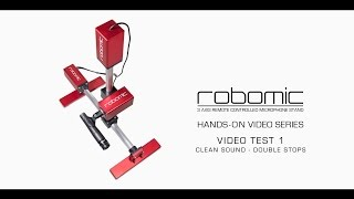 RoboMic - Test 1 - Clean Guitar Sound - Double Stops.
