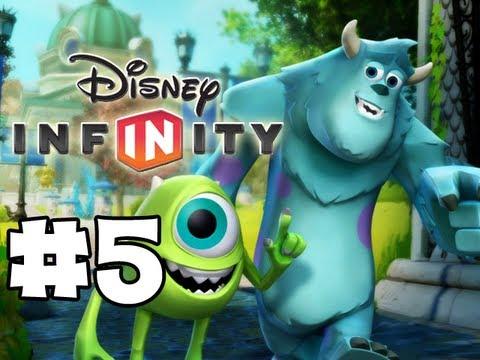 Disney Infinity - Gameplay Walkthrough - Monsters U Playset - Part 5 ...