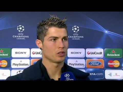 Real Madrid Vs FC Zurich 1-0 - Cristiano Ronaldo Interview - November 25 2009 - [HQ]