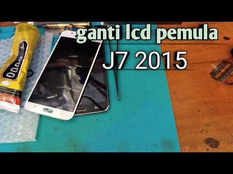 Cara Ganti Lcd Samsung J7 2015