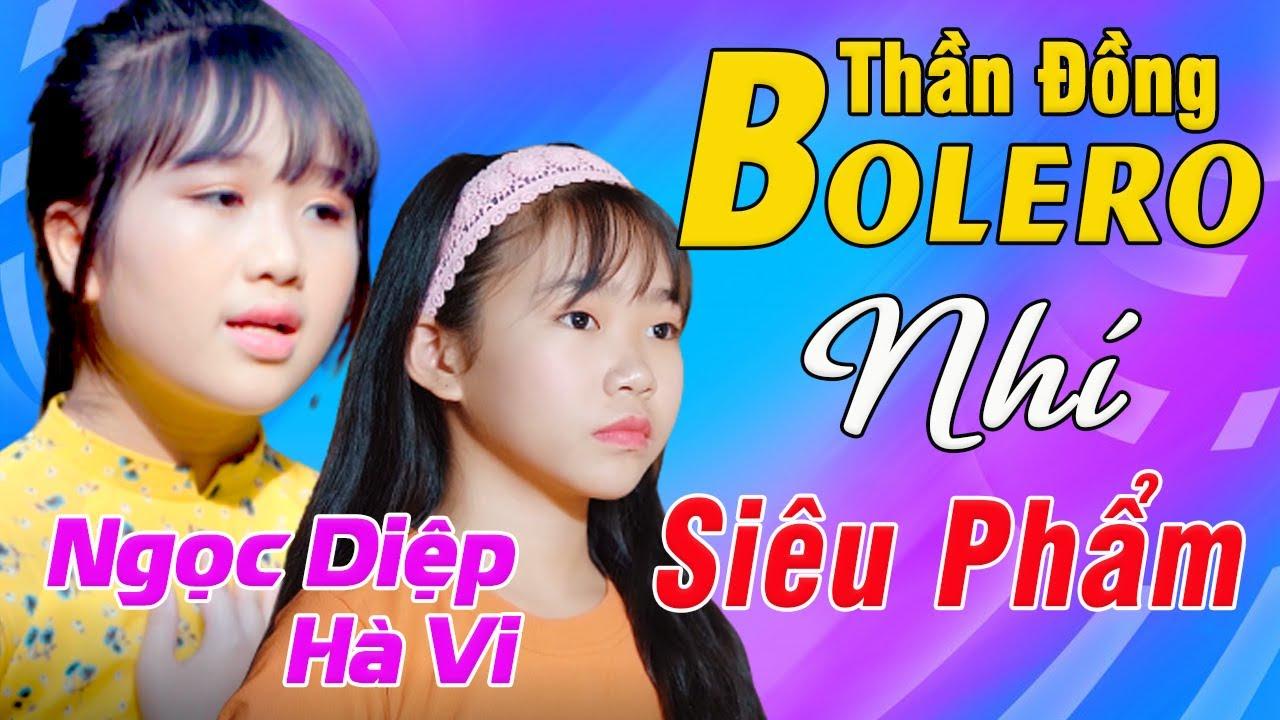 Thần Đồng Bolero Nhí khiến Ca sĩ Chuyên Nghiệp cũng phải bất ngờ - Siêu Phẩm Ngọc Diệp, Hà Vi
