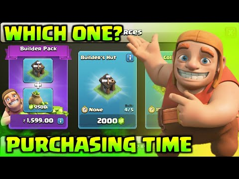 Purchasing My 5th Builder's Hut In Clash Of Clans